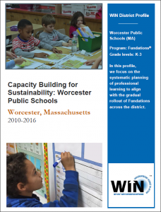 Wilson® Implementation Network - Capacity Building for Sustainability: Worcester Public Schools
